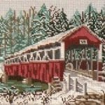 Barronvale Covered Bridge (PA) Winter