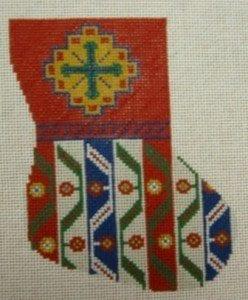 Khamseh Patterned  Mini Sock
