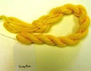 Needlepoint Yarn Forsythia Yellow
