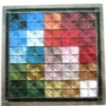 Color Tiles II Chart  by Shenandoah Stitchery Designs