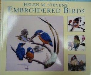 Helen M. Stevens' Embroidered Birds