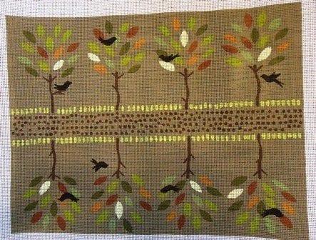 Autumn Trees Clutch
