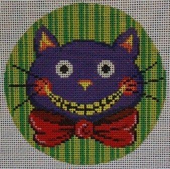 Purple Cat Face