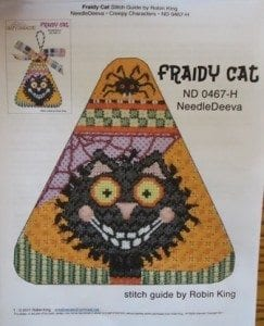 Fraidy Cat with Stitch Guide