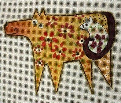 Happy Cow by Laurel Burch