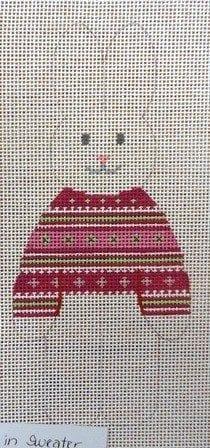 Girl Bunny in Sweater
