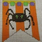 Spider Mini Banner with Stitch Guide