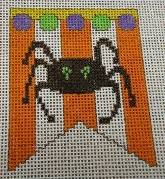 Spider Mini Banner with Stitch Guide
