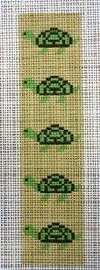 Turtle Bookmark, Pillow Insert, Bellpull