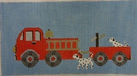 Fire Engine with Dalmatians