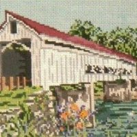 Mechanicsville Covered Bridge (OH) Summer