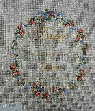 Baby Born Birth Announcement