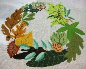Amy's Wreath of Leaves