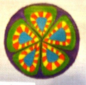 Purple Circle 4 of 6