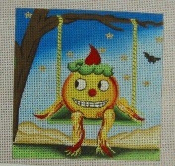 Jack the Pumpkin Swinging