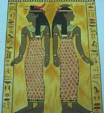 Standing Goddesses