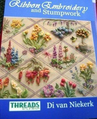 Ribbon Embroidery and Stumpwork by Di Van Niekirk