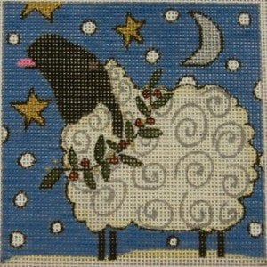 Sheep Catching Snowflakes by Frank Bielec