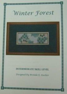 Winter Forest Booklet by Brenda Kocher