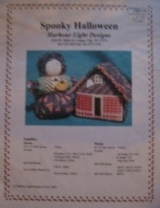 Spooky Halloween Chart by Harbour Light Designs