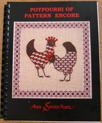 Potpourri of Pattern Encore, A Collection of Previously Unpublished Patterns for Canvas and Counted Thread Use by Ann Strite-Kurz