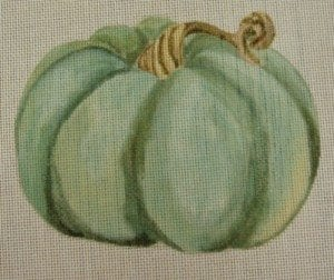 Green Pumpkin with Stitch Guide