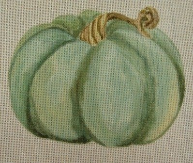 Green Pumpkin with Stitch Guide