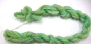 Needlepoint Yarn Leaves of Green
