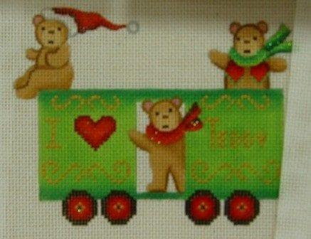 Twelve Car Train Teddy Bear Car