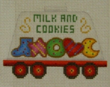 Twelve Car Train Milk and Cookies Car