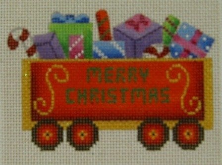 Twelve Car Train Lots of Gifts Car