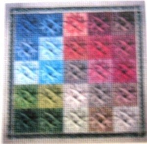 Color Tiles I Chart by Shenandoah Stitchery Designs