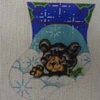 Bear Cub Mini Sock