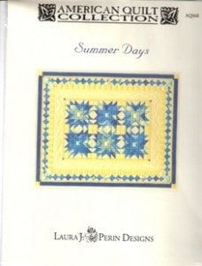 Summer Days Chart by Laura J. Perin