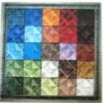Color Tiles III Chart by Shenandoah Stitchery Designs