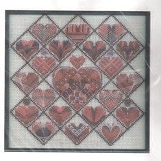 Patchwork Hearts by Kick Back & Stitch