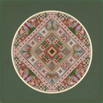 Diamond Eyes Needlepoint CHART by Threedles