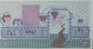 Twilight Garden Needlepoint Booklet