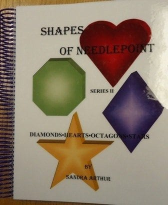 Shapes of Needlepoint Series II, Diamonds-Hearts-Octagons-Stars by Sandra Arthur