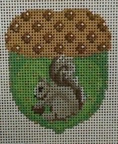 Tiny Acorn with Grey Squirrel