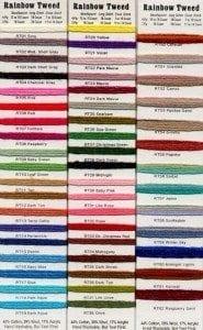 Rainbow Tweed