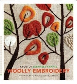 Kyuuto!  Japanese Crafts Wooly Embroidery