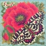 Elizabeth Bradley Poppy and Butterfly Mini Kit