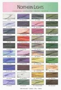 Northern Lights Overdyed Silk by Needlepoint Inc.