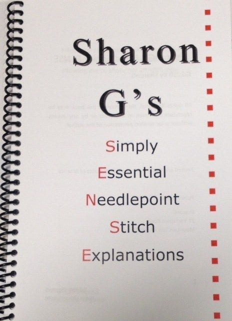 SharonG's Simply Essential Needlepoint Stitch Explanations