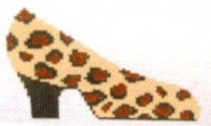Tiny Leopard Print Shoe Ornament