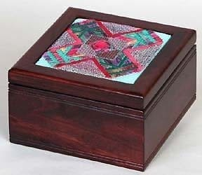 Treasure Box with Red Velvet Lining