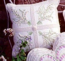 Lilies of the Valley Crewel Kit