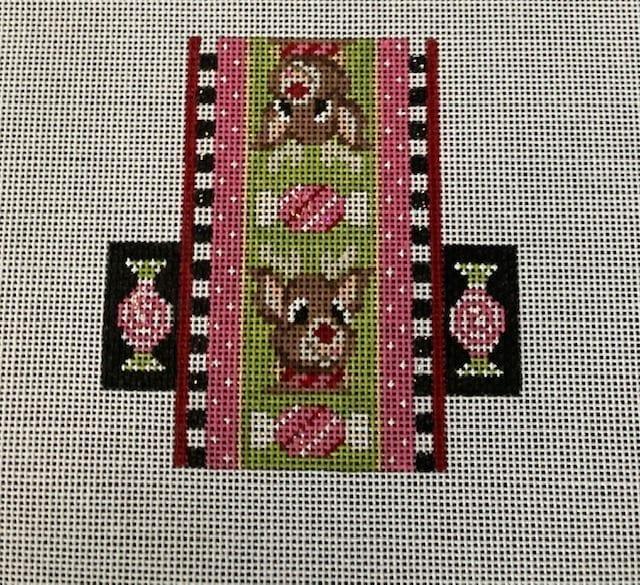 Pink Run Run Rudolph Candy by Kelly Clark