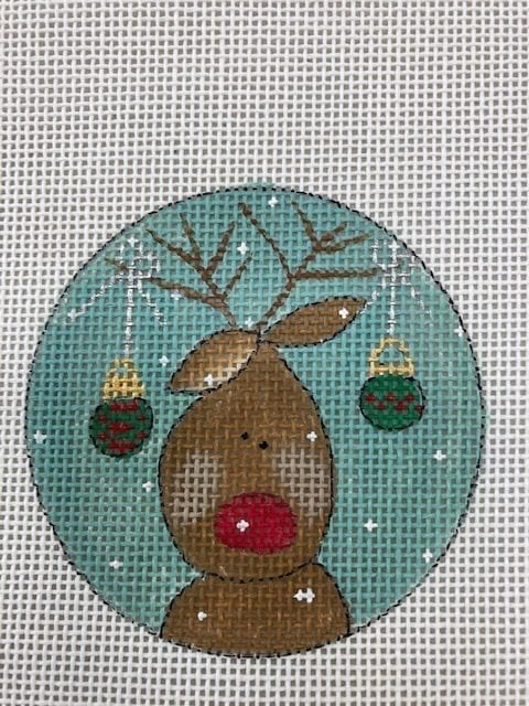 Rudolph with Ornaments